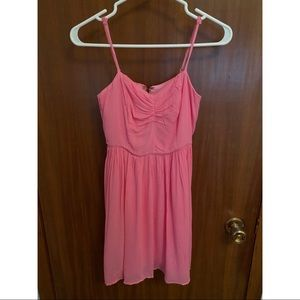 Urban Outfitters Bright Pink Summer Dress